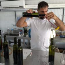 Fabricio Orlando, enólogo de LJW Vinos y Bodegas