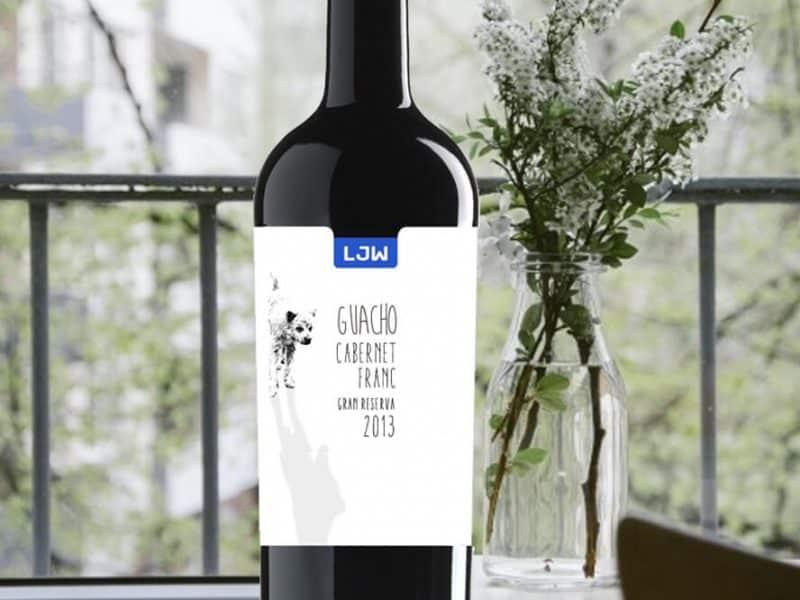 LJW Vinos y Viñedos - Guacho Cabernet Franc gran reserva
